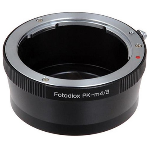 Fotodiox Lens Mount Adapter for Pentax K Mount (PK) SLR Lens to Micro Four Thirds (MFT, M4/3) Mount Mirrorless Camera Body - image 1 of 3