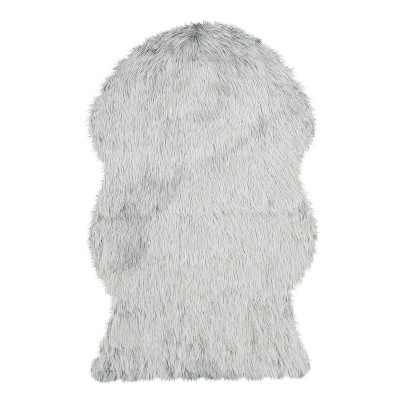 Faux Sheep Skin Rug - Light Gray - (3'X5')- Safavieh®