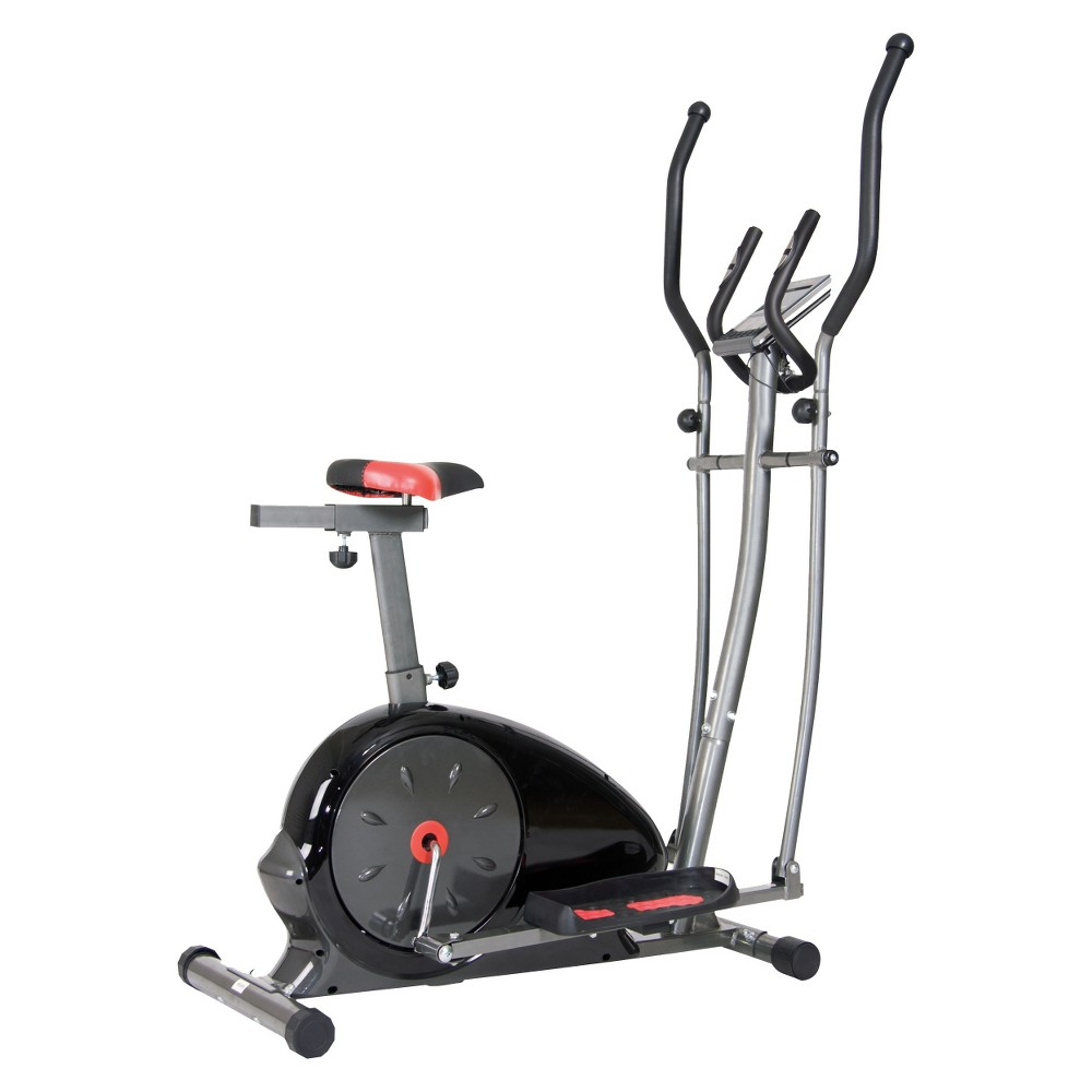 Body Champ Magnetic Cardio Dual Trainer Exercise Bike