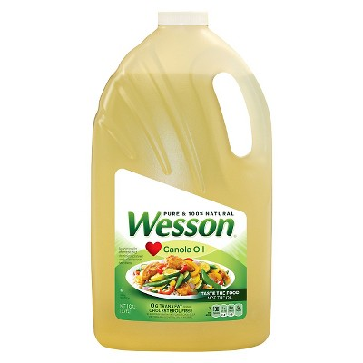 Cooking Oils: Wesson Pure Canola Oil