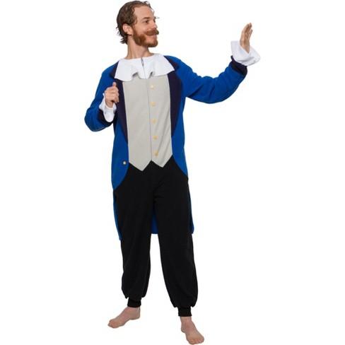 FUNZIEZ! - Colonial Patriot Slim Fit Men's Novelty Union Suit - image 1 of 4