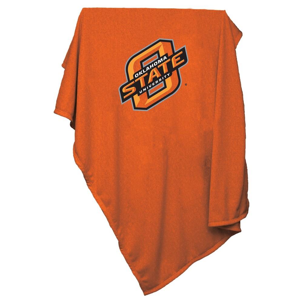 Oklahoma State Cowboys Sweatshirt Throw Blanket