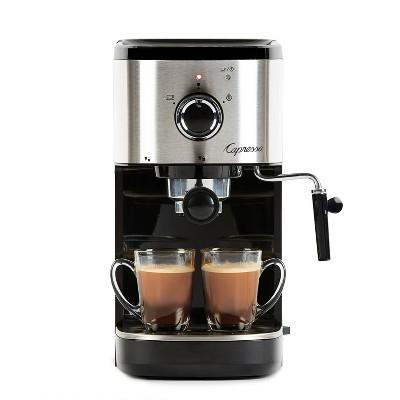 Capresso Compact Espresso/Cappuccino Machine EC Select – Black/Stainless 120.05