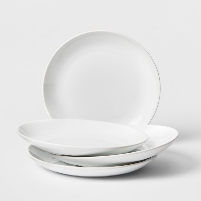 Porcelain Dinner Plate 11  White - Threshold™