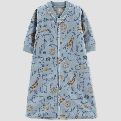 Baby Boys' Safari Wearable Blanket - Just One You® made by carter's Blue 3-6M