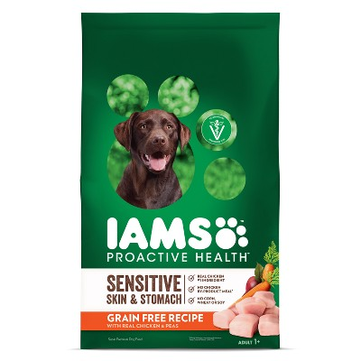 Dog Food: Iams Proactive Health Sensitive Skin & Stomach