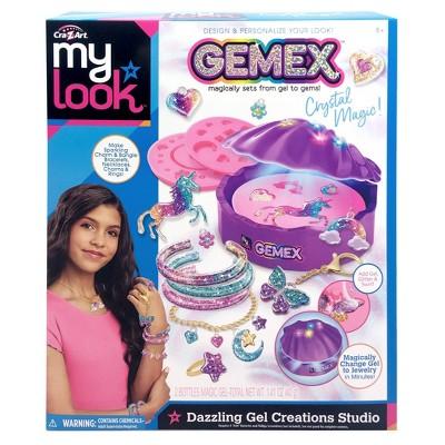 My Look Gemex Dazzling Gel Creations Studio Craft Activity Kit