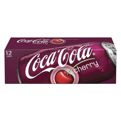 Coca-Cola Cherry - 12pk/12 fl oz Cans