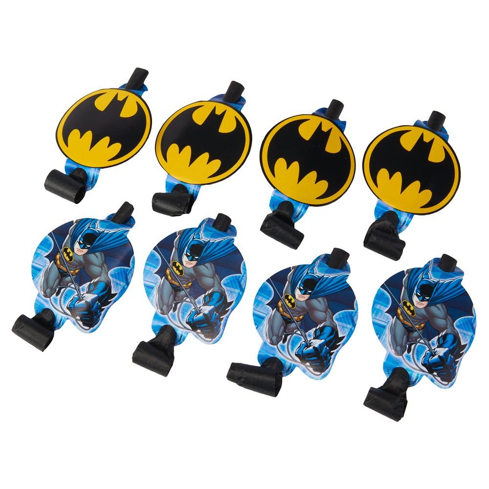 8ct Batman Party Blowers, Party Favors