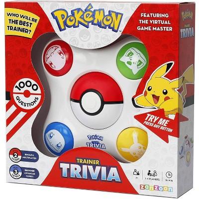 Pokemon Trainer Trivia Game