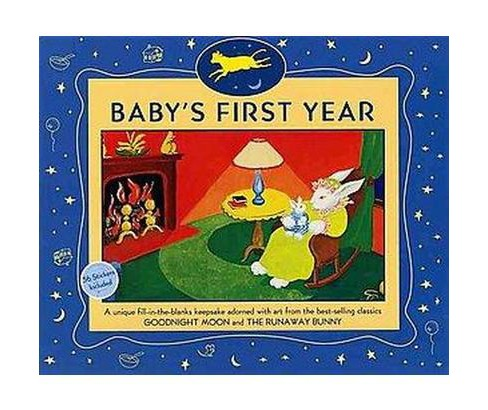 Baby's First Year : 12-month Keepsake Calendar (Paperback) (Margaret Wise Brown) - image 1 of 1
