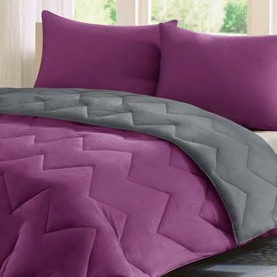 Purple/ Charcoal