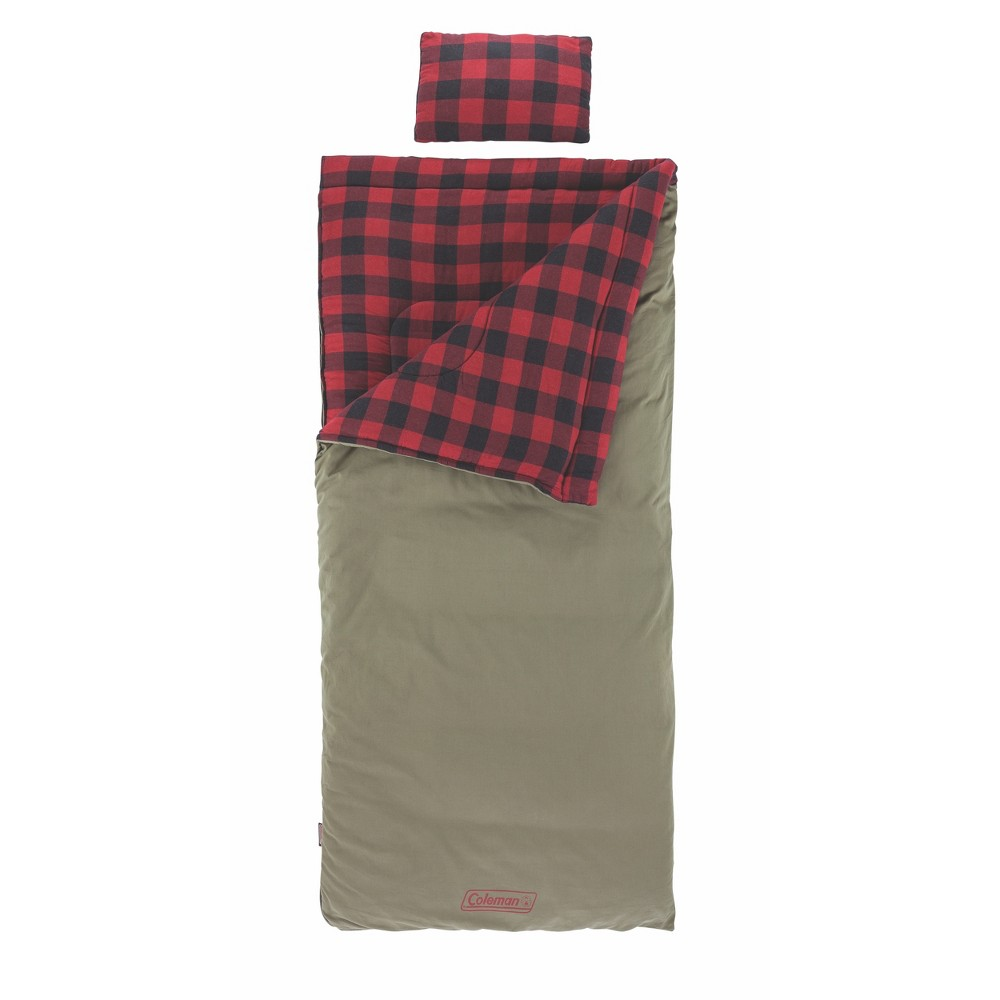 Image of Coleman Big Game Adult 0 Degrees Fahrenheit Sleeping Bag - Light Brown