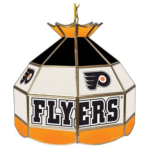 Philadelphia Flyers Stained Glass Tiffany Lamp - 16 inch - image 1 of 1