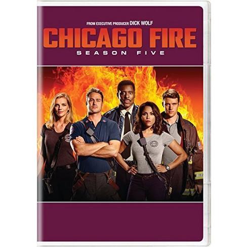 Chicago Fire Season 5 Dvd Target