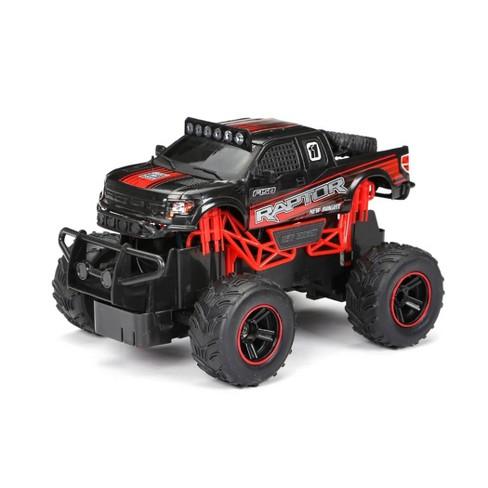 New Bright 1:24 R/C FF Truck - Raptor Black - image 1 of 4