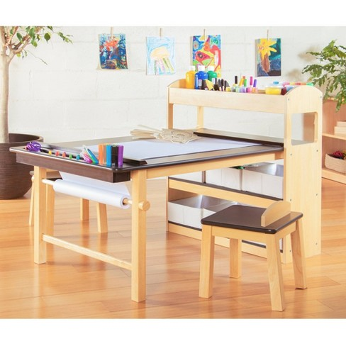 Kids' Deluxe Arts and Activity Center - Guidecraft - image 1 of 4