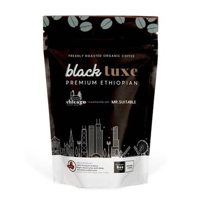 Chicago French Press Black Tuxe Medium Roast Coffee - 8oz
