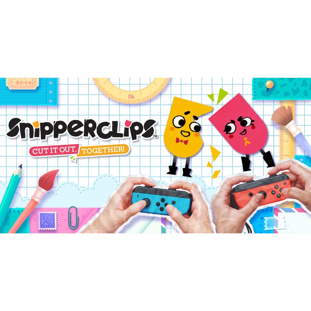 Snipperclips: Cut it Out, Together! - Nintendo Switch (Digital) was $31.49 now $13.99 (56.0% off)