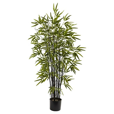 Nearly Natural 4' Black Bamboo Tree - image 1 of 1