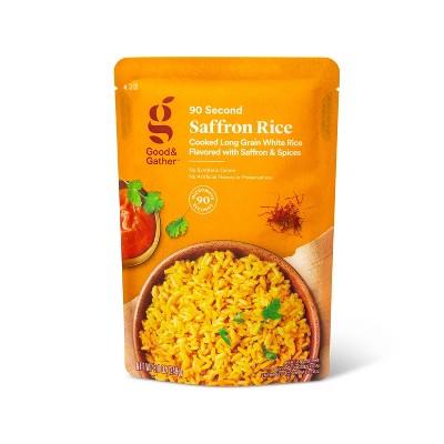 Saffron Rice Microwavable Pouch  - 8.8oz - Good & Gather™