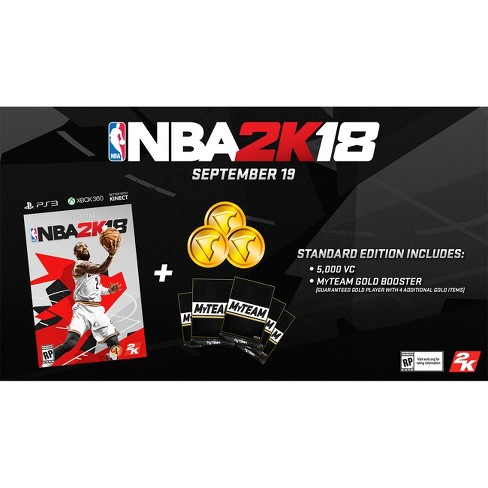 NBA 2K18 Early-Tip Off Edition - PlayStation 3