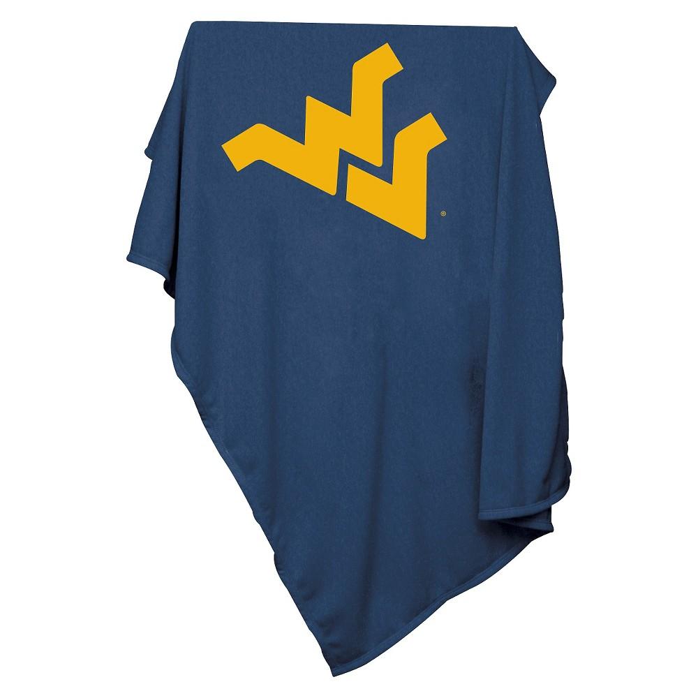 West Virginia Mountaineers Sweatshirt Throw Blanket
