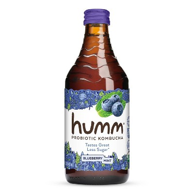 Humm Blueberry Mint Kombucha 14oz