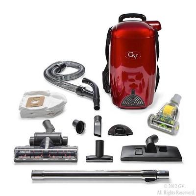 GreatVacs 8qt HEPA BackPack Vacuum Blower - Red