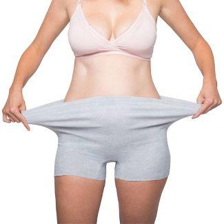 Frida Mom Disposable Postpartum Underwear Boy Shorts Briefs - Regular 8ct