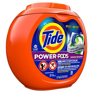 Tide Hygienic Clean Heavy 10x Duty Power PODS Spring Meadow Laundry Detergent Liquid Pacs - 21ct