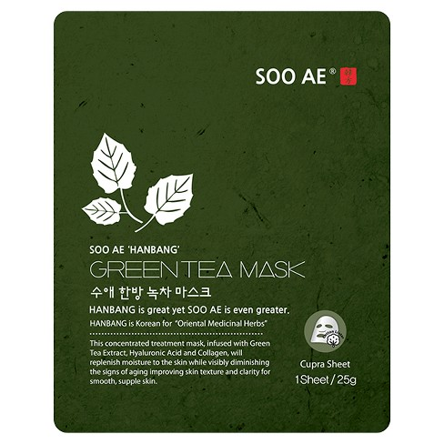 Soo AE® Collagen Mask - Green Tea - 5ct - image 1 of 1