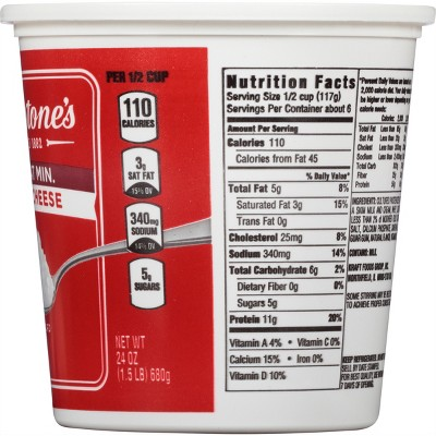 Terrific Nutrition Facts For Cottage Cheese Beutiful Home Inspiration Ommitmahrainfo