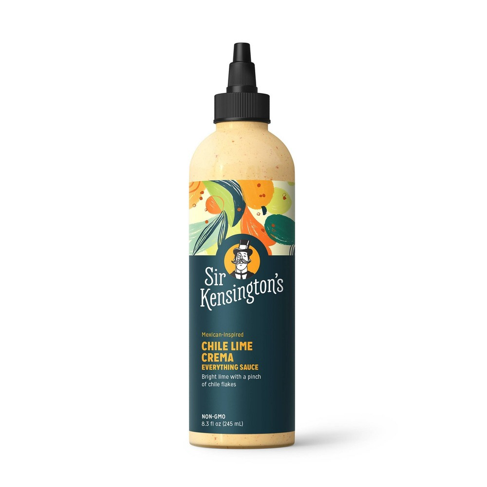 Sir Kensingtons Everything Sauce Chili Lime Crema - 8.3oz