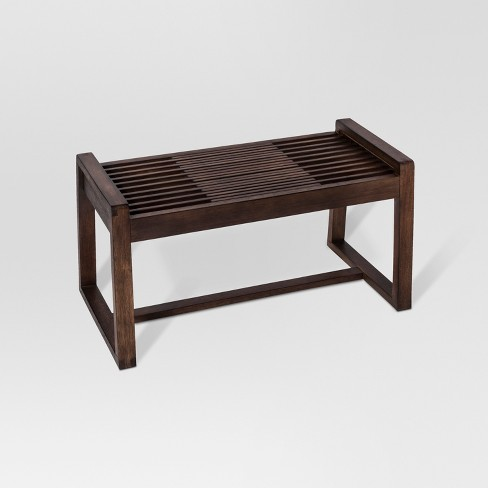 Walnut Slat Bench Project 62 Target