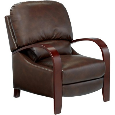 Elm Lane Cooper Legends Faux Leather Chocolate 3-Way Recliner
