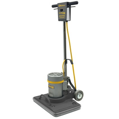 Koblenz Industrial and Commercial 1.5 HP 14 x 20 Inch Cleaning Pad Heavy Duty Floor Cleaner Machine with Non Marking Wheels and 3500 RPM Brush Speed