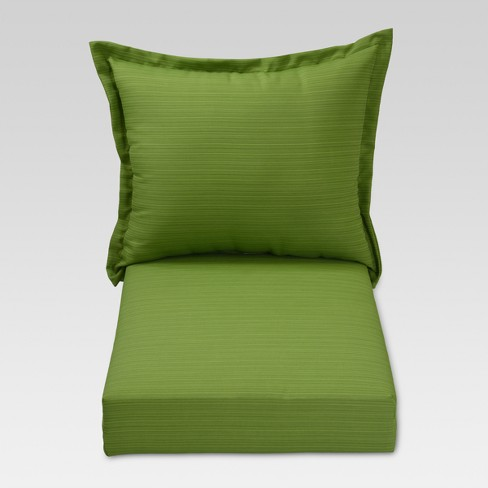 Harper 2pc Outdoor Deep Seating Cushion Set - Green - Threshold™ - image 1 of 1