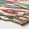 Indoor/Outdoor Floral Woven Area Rug - Opalhouse™ - image 2 of 3
