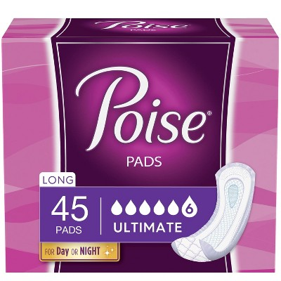 Poise Postpartum Incontinence Pads - Ultimate Absorbency