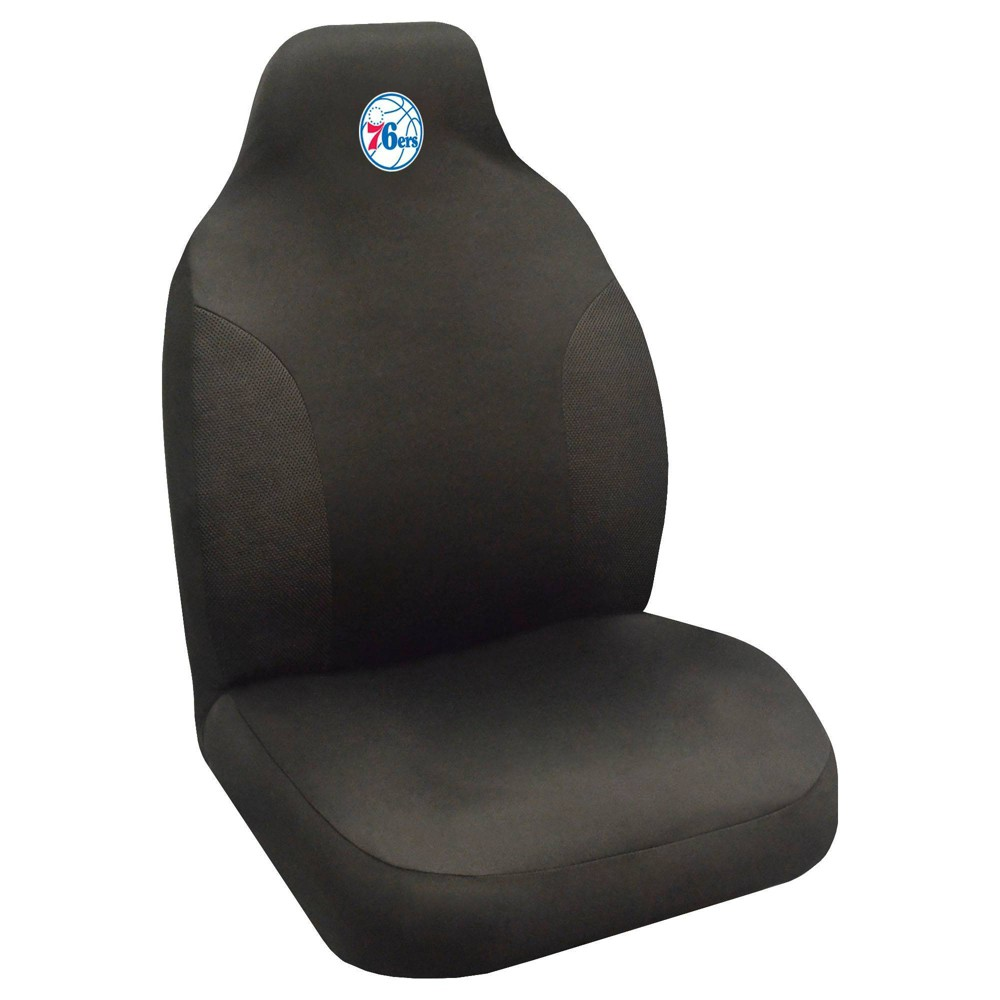 Nba Philadelphia 76ers Single Embroidered Seat Cover