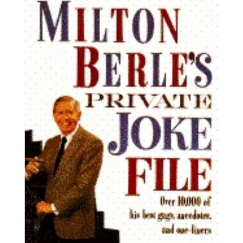 Milton Berle's Private Joke File - (Paperback) - image 1 of 1