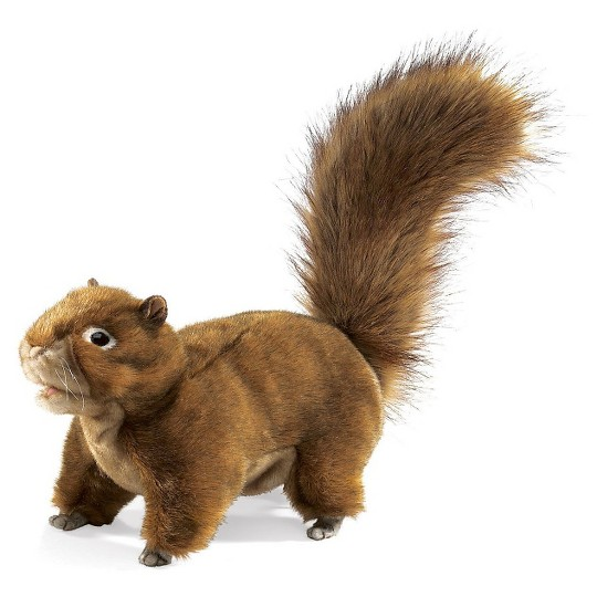 Folkmanis Red Squirrel Hand Puppet image number null