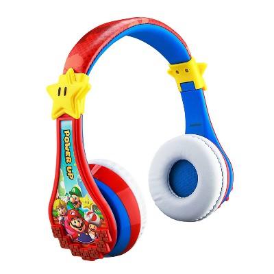 eKids Super Mario Bluetooth Headphones