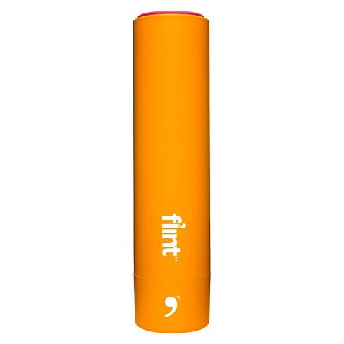 Flint Retractable Lint Roller, Yellow - 30 Sheets - image 1 of 1