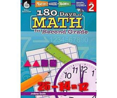 180 Days of Math for Second Grade (Paperback) (Jodene Smith) - image 1 of 1