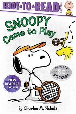 Snoopy Came to Play - (Peanuts) by  Charles M Schulz (Paperback)