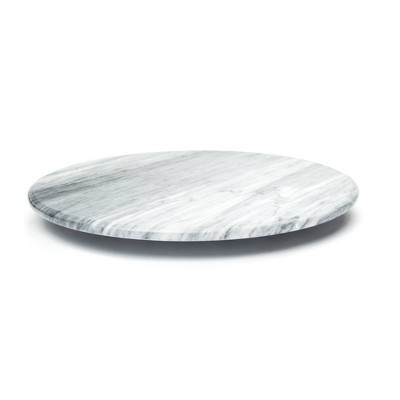 "12"" Marble Lazy Susan White - Fox Run"