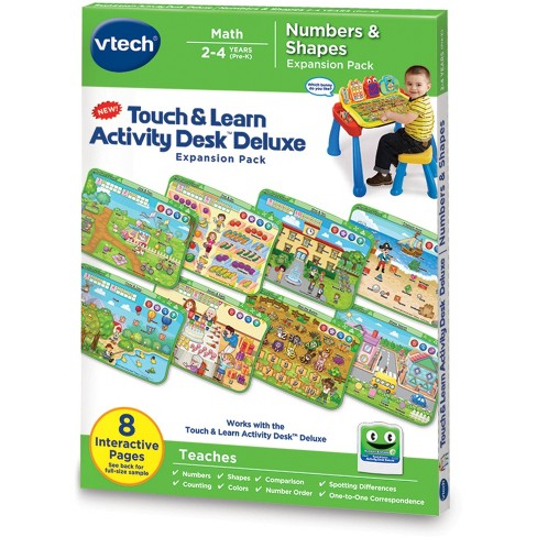 VTech® Touch & Learn Activity Desk™ Deluxe - Numbers & Shapes - image 1 of 7