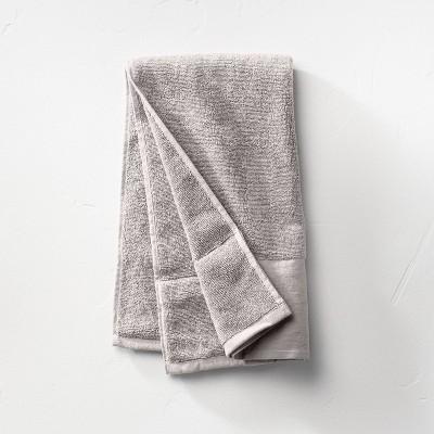 Linen Cuff Hand Towel Gray - Casaluna™